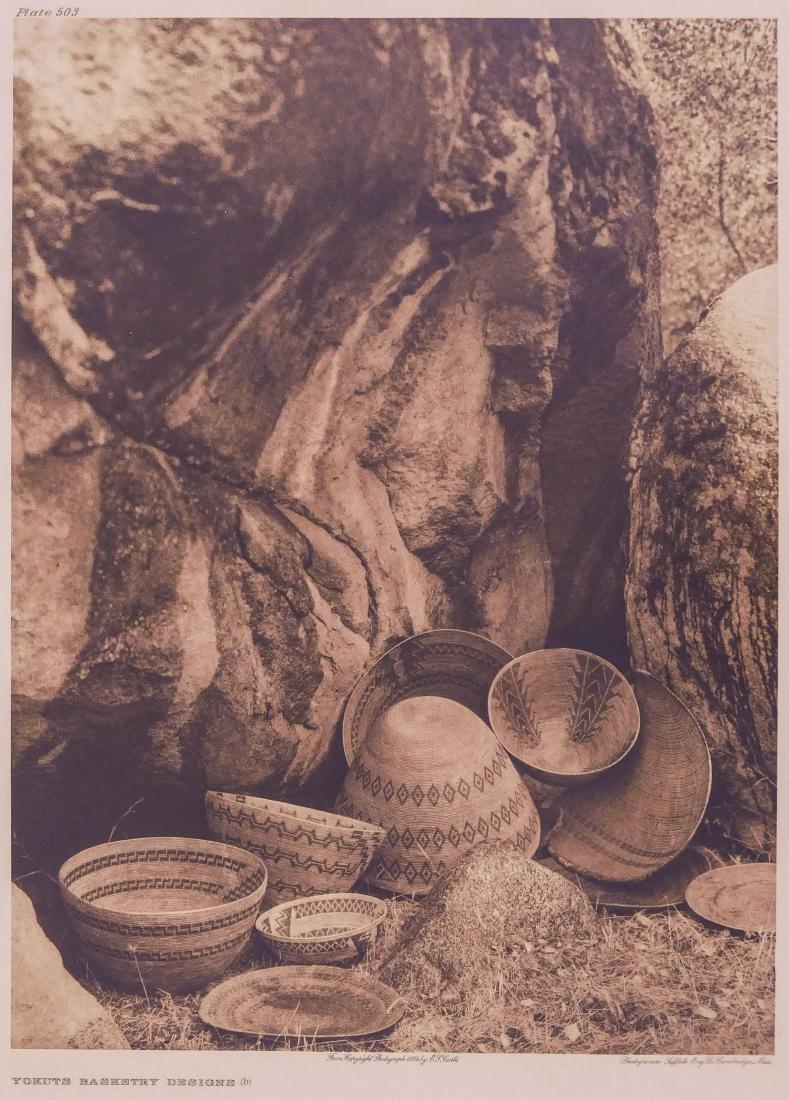 Edward Curtis ''Yokuts Basketry Designs (b)'' 1924