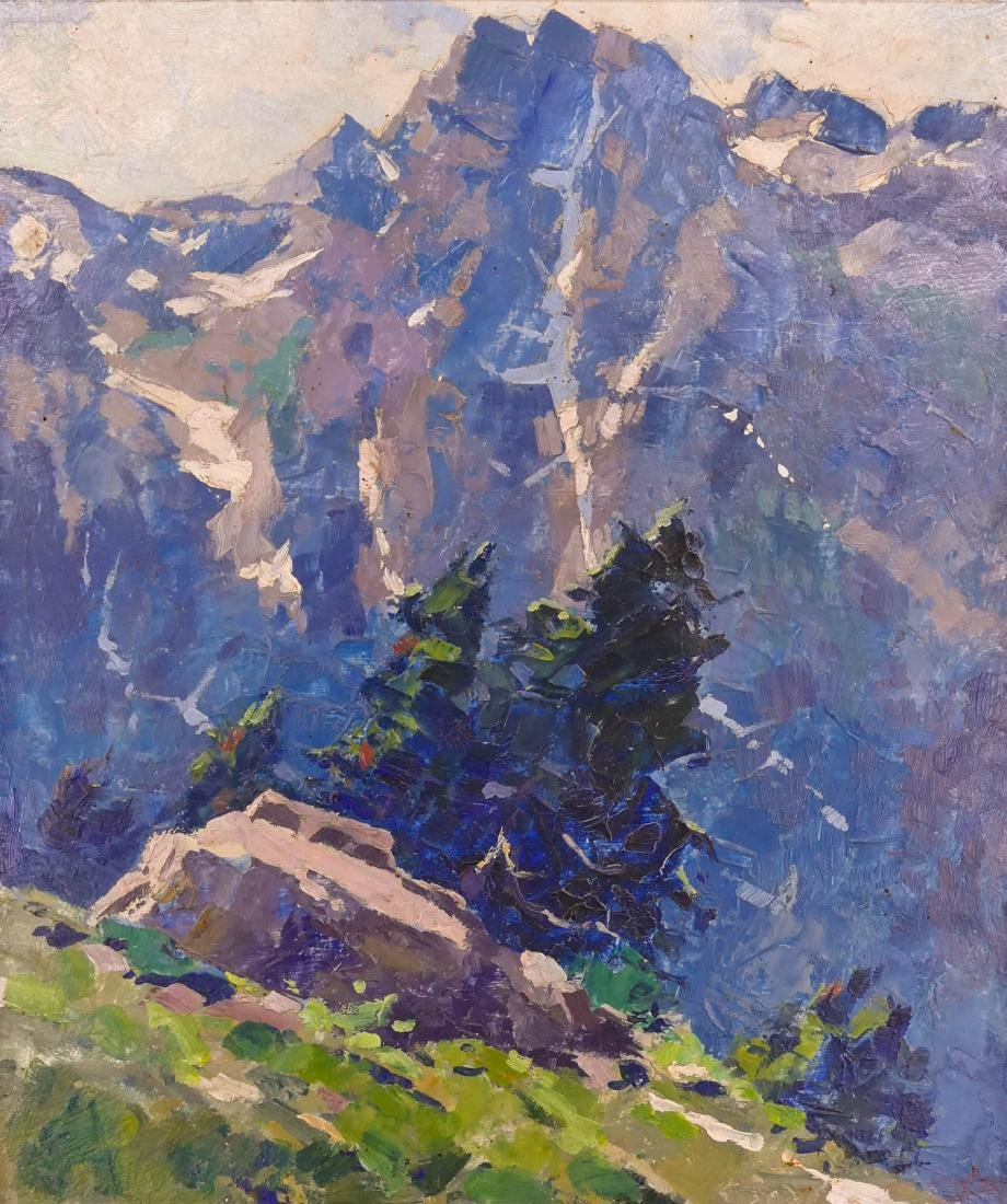 Eustace Ziegler (1881-1969 Alaska) ''Looking Towards