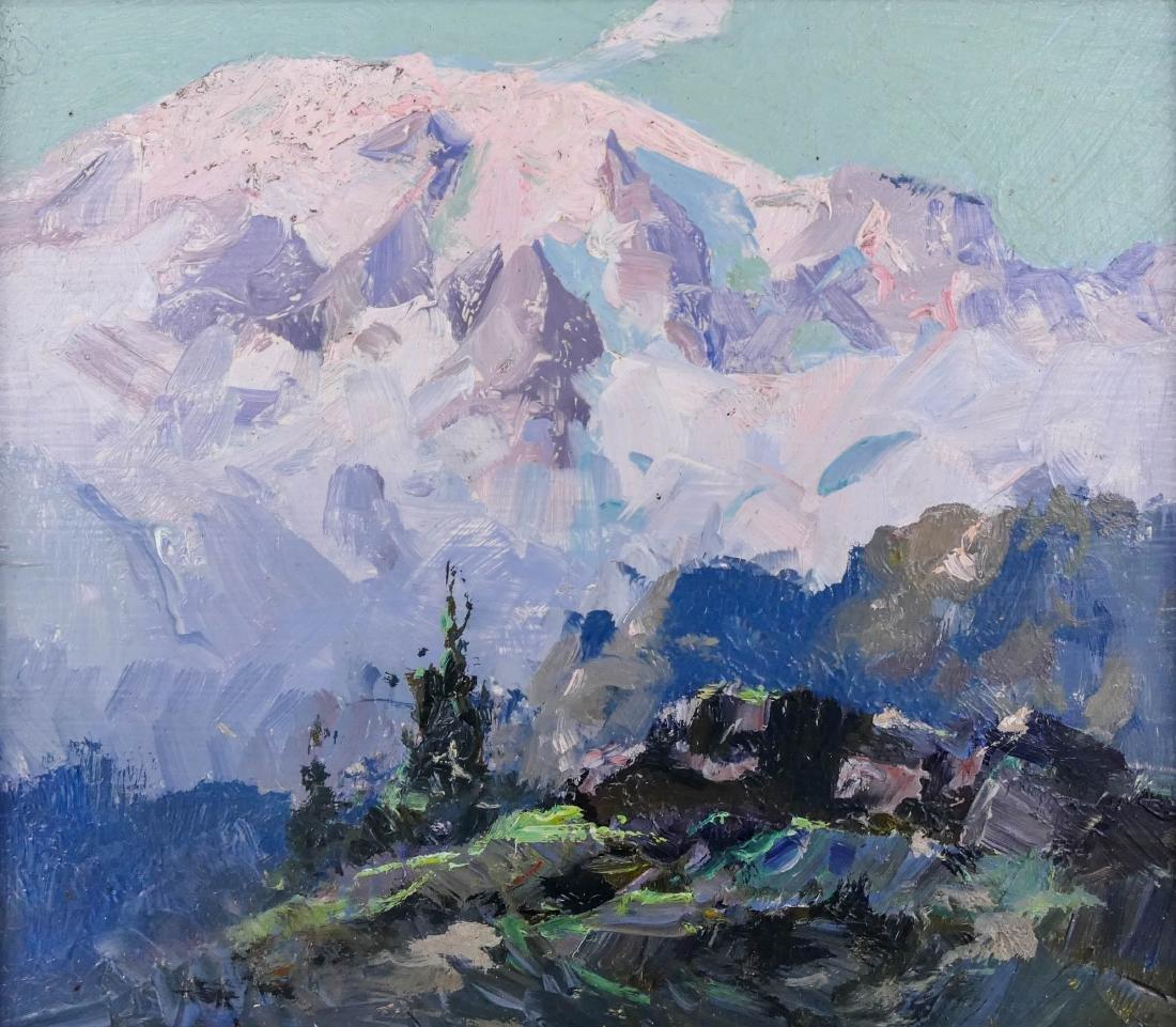 Eustace Ziegler (1881-1969 Alaska) ''Mt. Rainier,