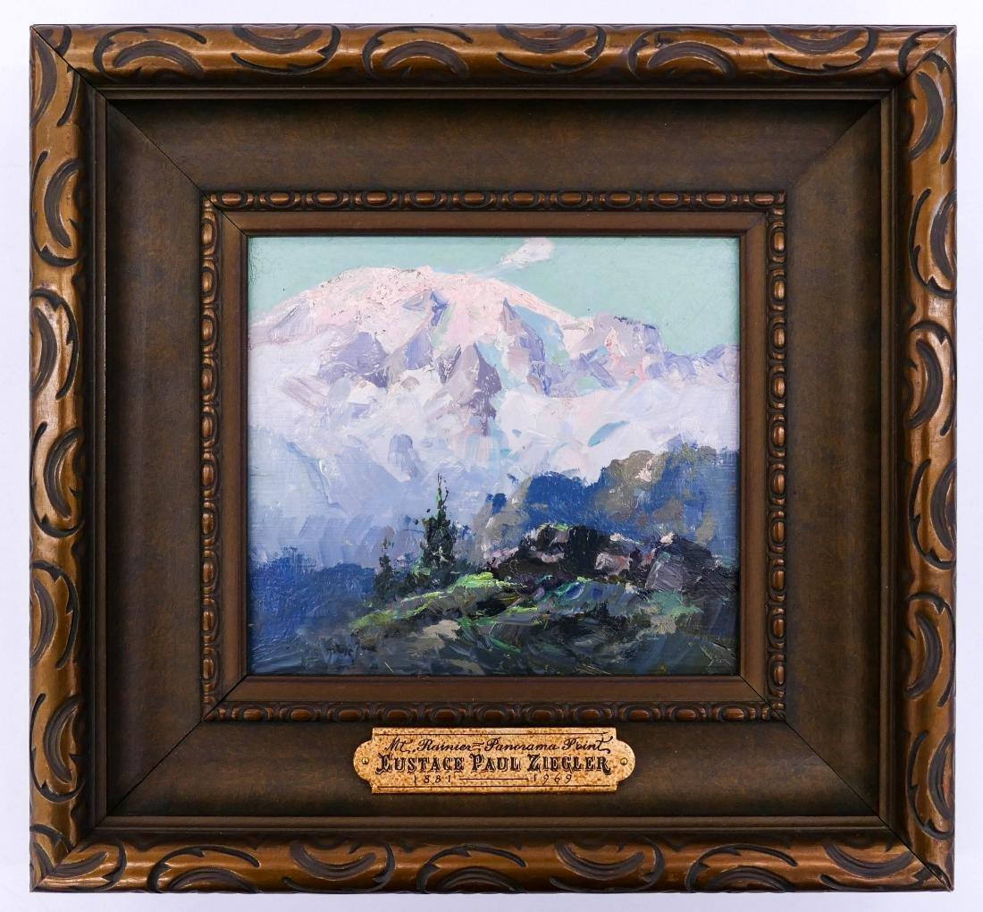 Eustace Ziegler (1881-1969 Alaska) ''Mt. Rainier, - 2