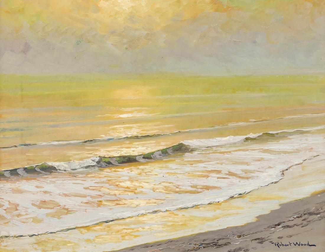 Robert Wood (1889-1972 California) Untitled Seascape