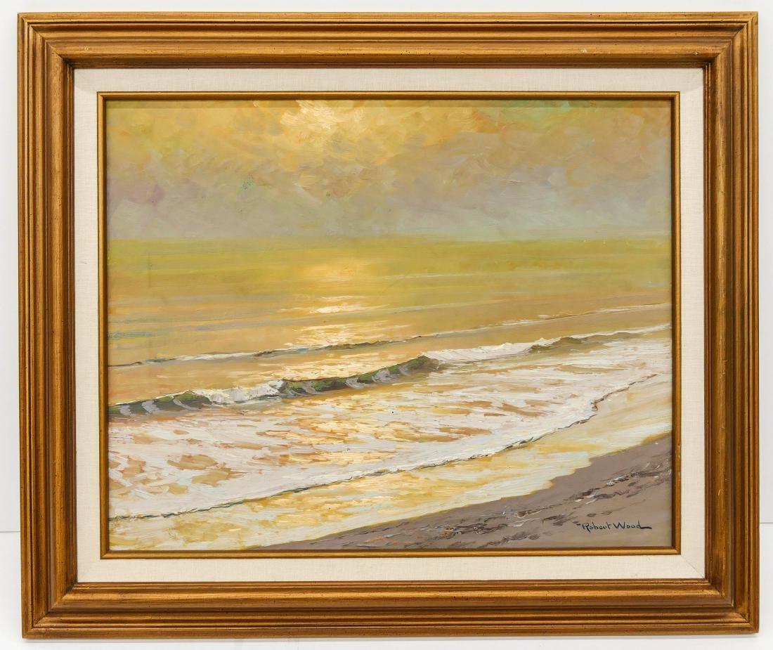Robert Wood (1889-1972 California) Untitled Seascape - 2
