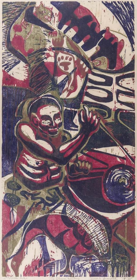 Joseph Senungetuk (b.1940 Alaska) ''The Shaman