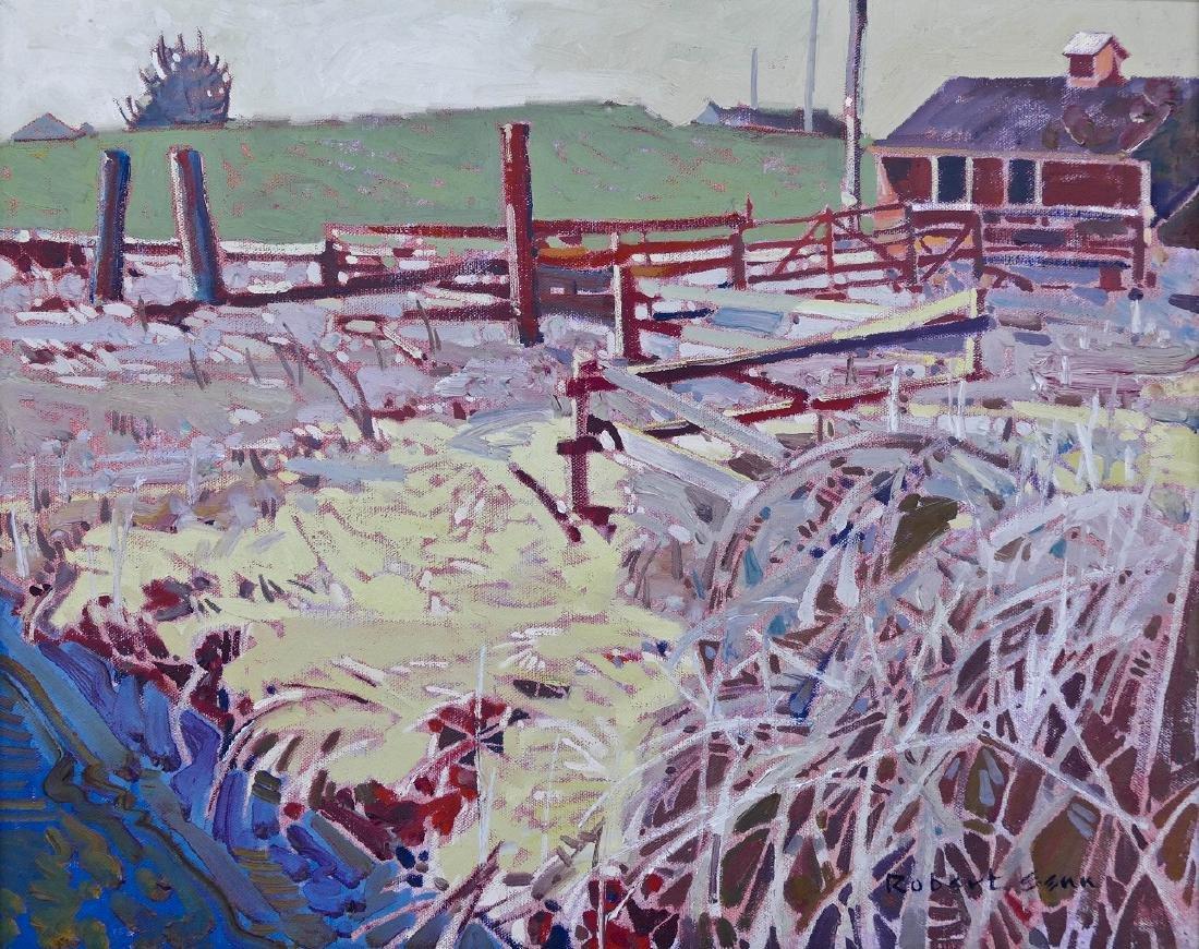 Robert Genn (1936-2014 Canadian) ''Edge: Buchner's