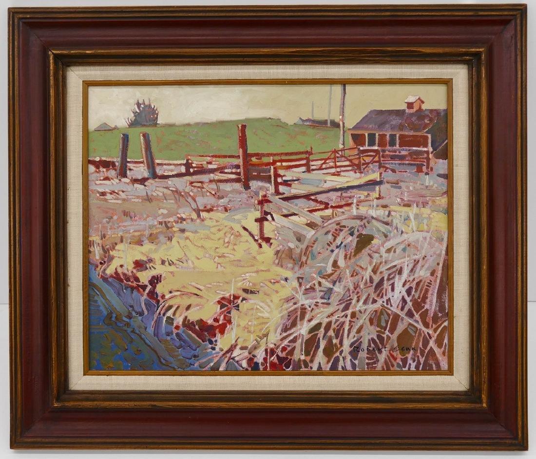Robert Genn (1936-2014 Canadian) ''Edge: Buchner's - 2