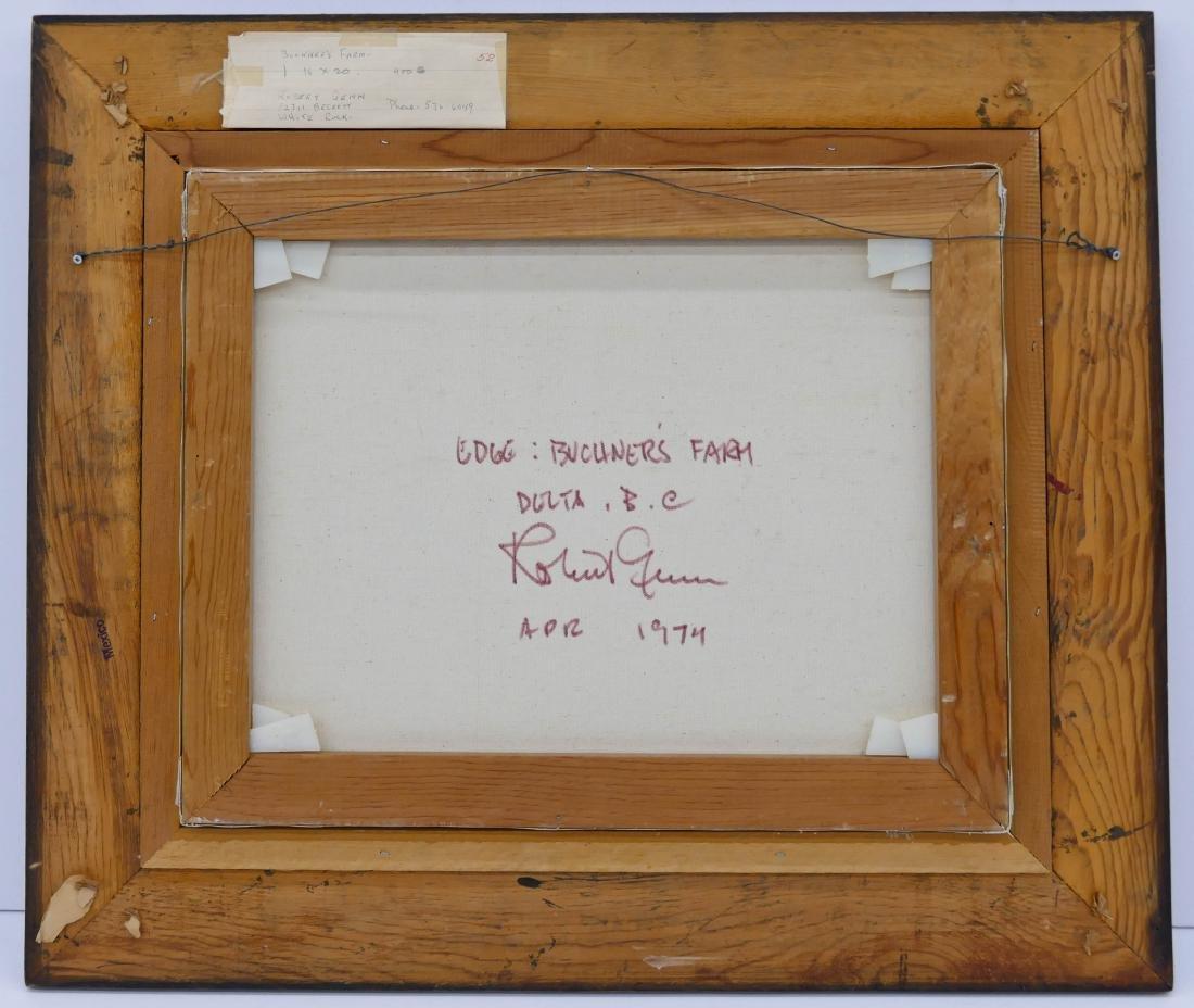 Robert Genn (1936-2014 Canadian) ''Edge: Buchner's - 3