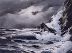 Hulan Fleming (b.1933 Washington) Untitled Seascape