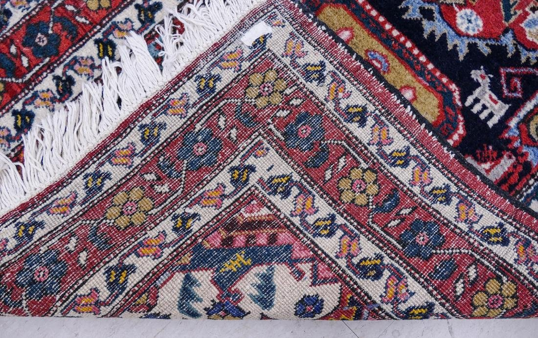 Semi Antique Persian Runner Oriental Rug 2'6''x8'7''. A - 3
