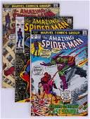 131pc The Amazing Spider Man Silver & Bronze Age Comic