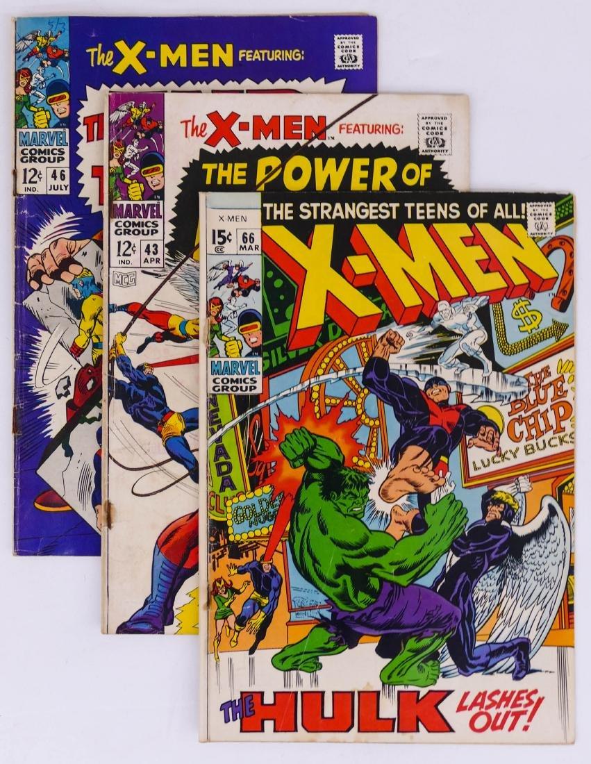 46pc X-Men Silver & Bronze Age Comic Book Collection. A