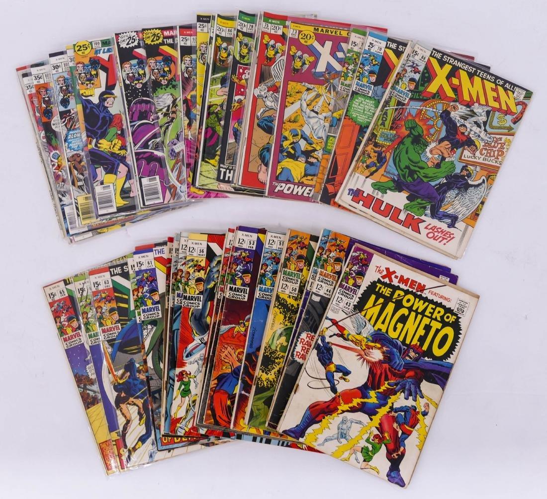 46pc X-Men Silver & Bronze Age Comic Book Collection. A - 2