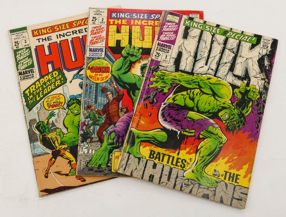 57pc The Incredible Hulk Silver & Bronze Age Comic Book - 2