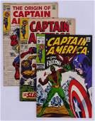 83pc Captain America Silver & Bronze Age Comic Book