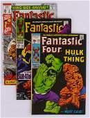 78pc The Fantastic Four Silver & Bronze Age Comic Book