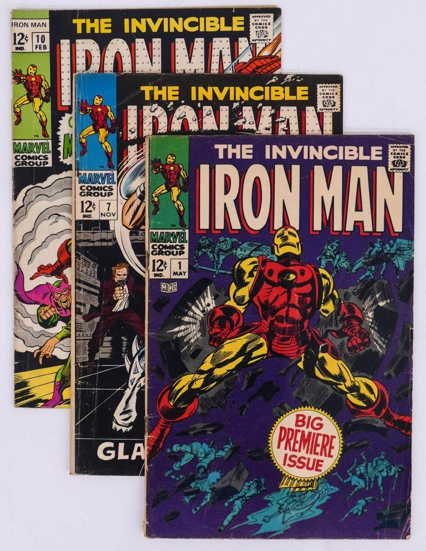 76pc Iron Man Silver & Bronze Age Comic Book