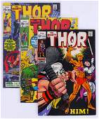 52pc Thor Silver & Bronze Age Comic Book Collection. A