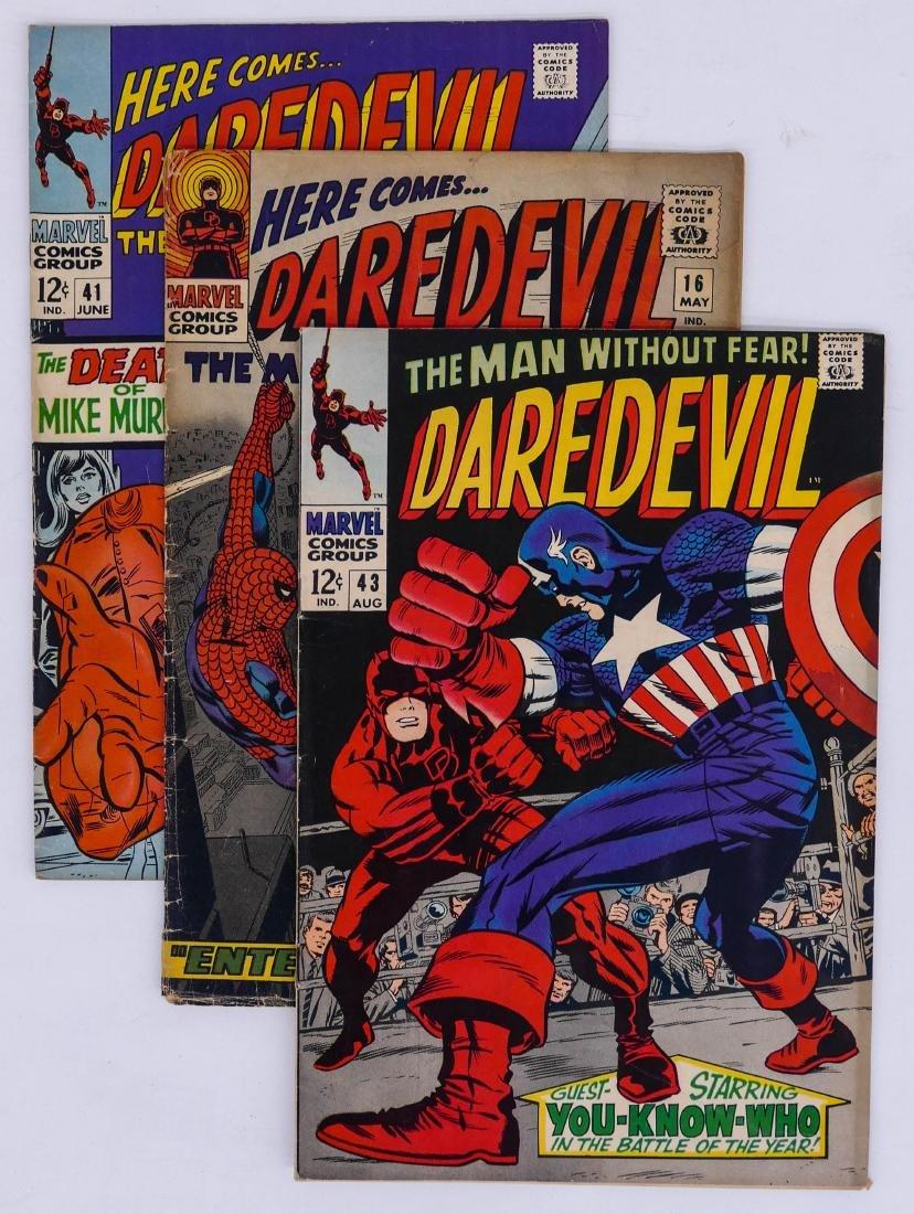 125pc Daredevil Silver & Bronze Age Comic Book