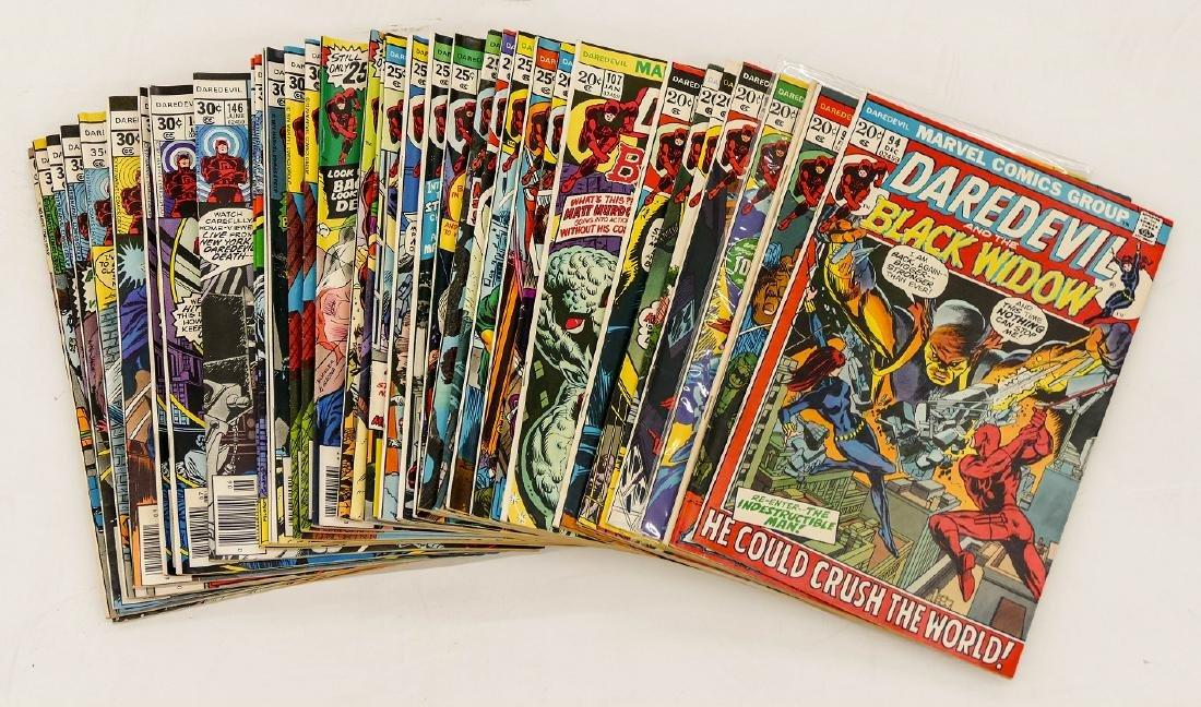 125pc Daredevil Silver & Bronze Age Comic Book - 3