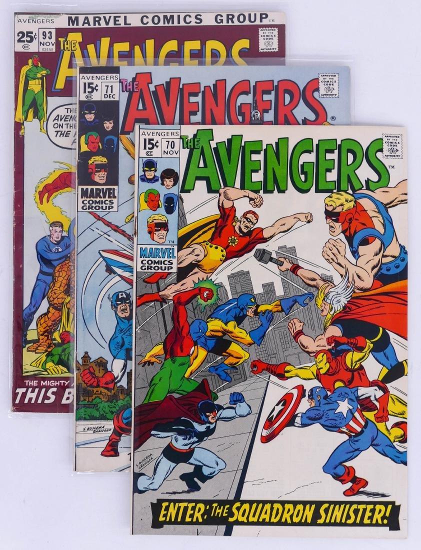 84pc The Avengers Silver & Bronze Age Comic Book