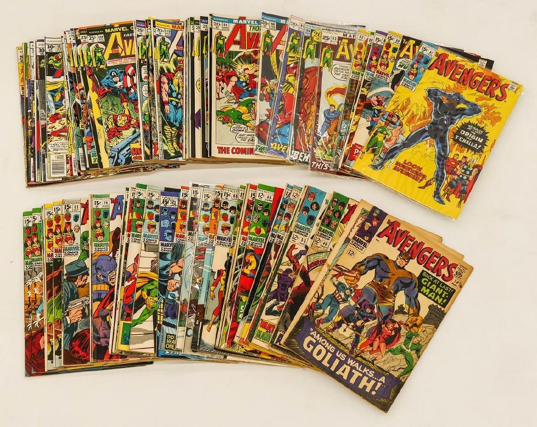84pc The Avengers Silver & Bronze Age Comic Book - 2