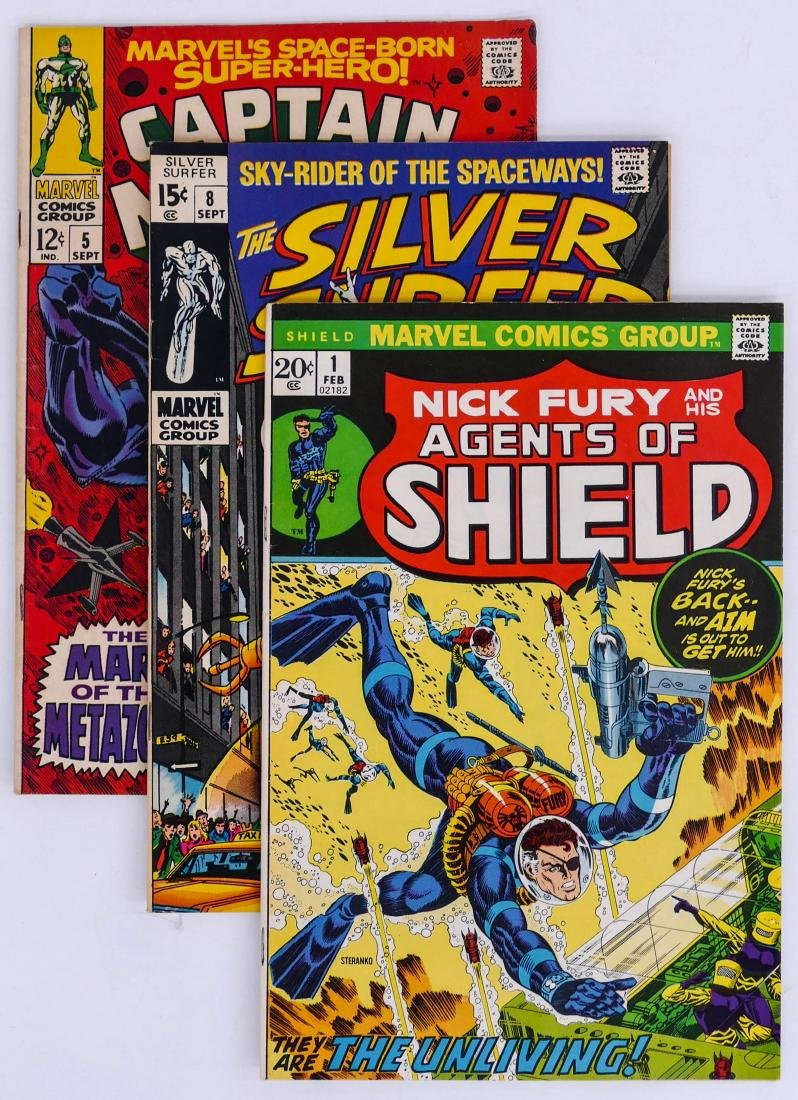 313pc Marvel Silver & Bronze Age Comic Book Collection.