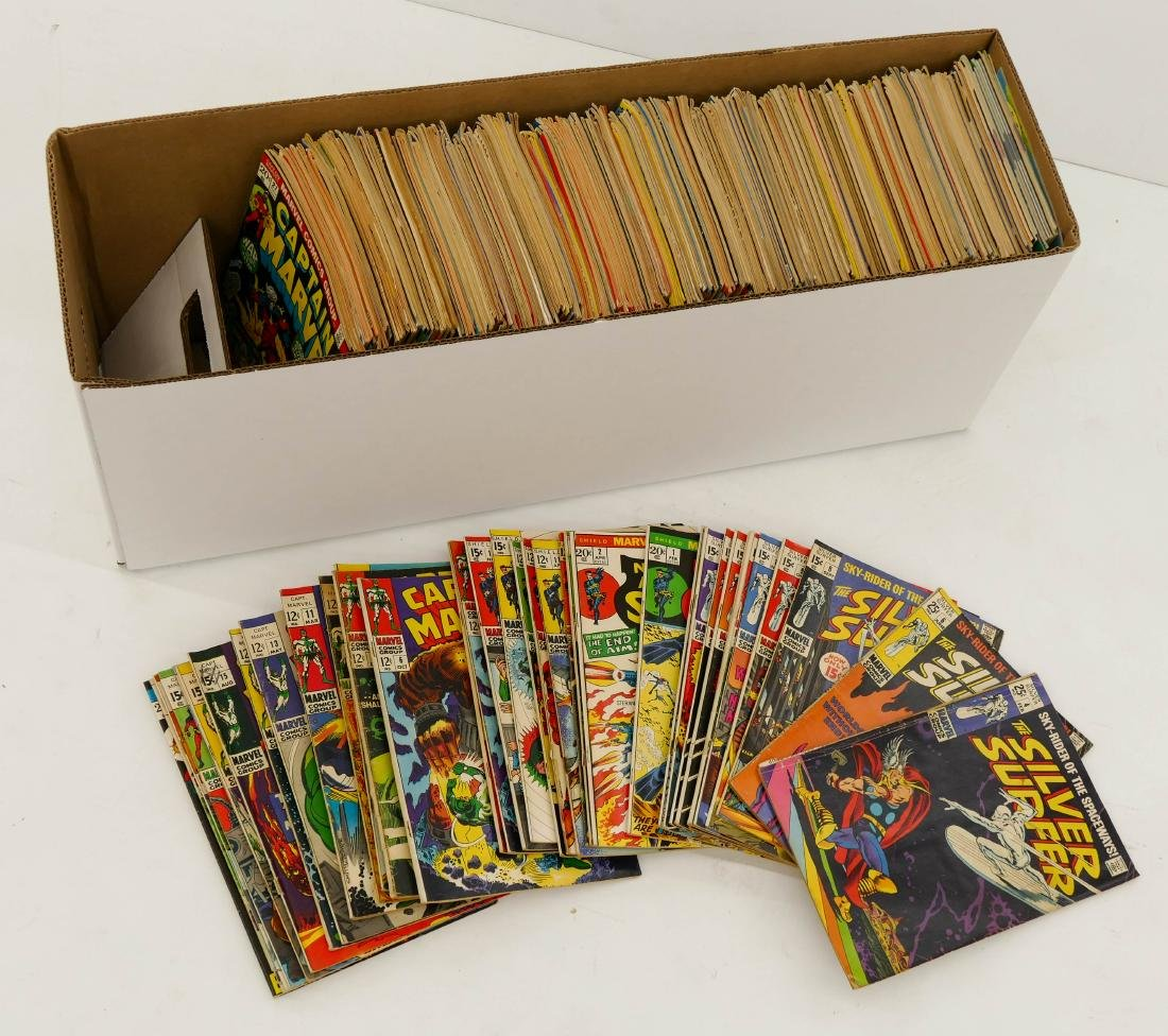 313pc Marvel Silver & Bronze Age Comic Book Collection. - 2