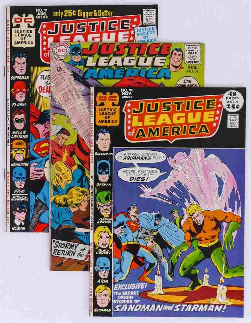 58pc Justice League of America Silver & Bronze Age
