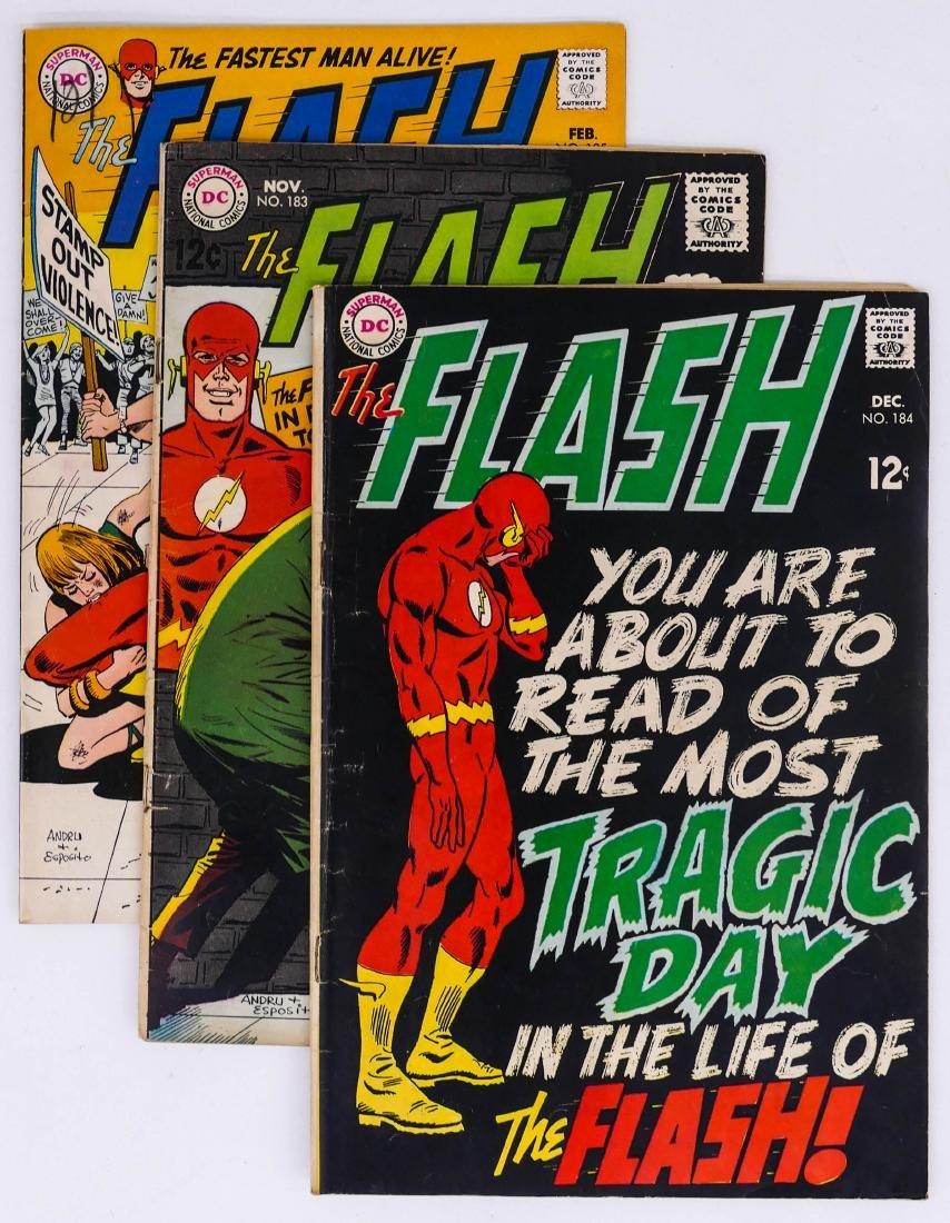 58pc The Flash Silver & Bronze Age Comic Book