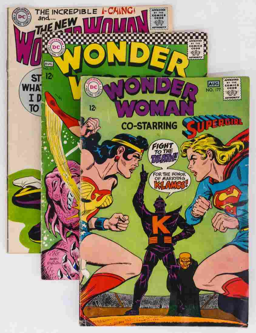 38pc Wonder Woman Silver & Bronze Age Comic Book