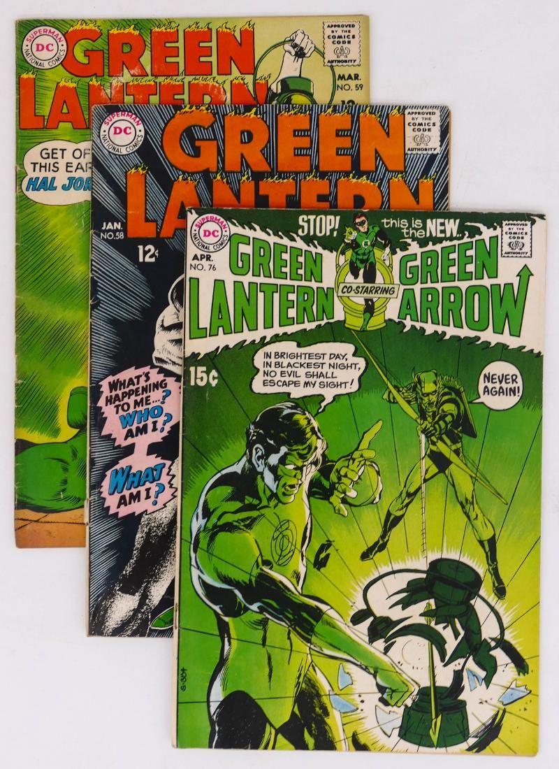 40pc Green Lantern Silver & Bronze Age Comic Book