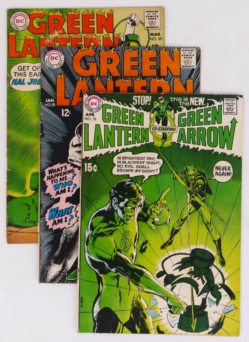40pc Green Lantern Silver & Bronze Age Comic Book