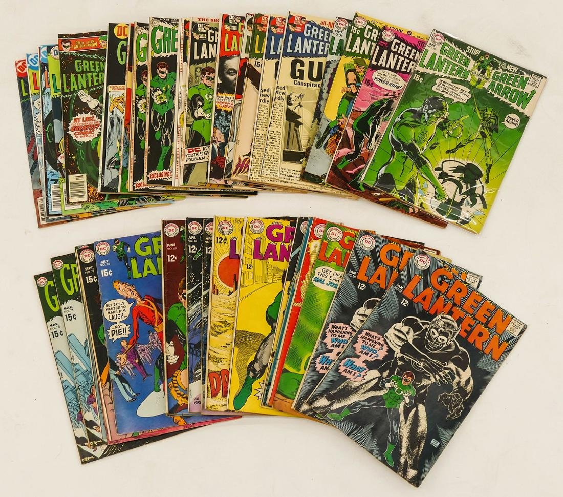 40pc Green Lantern Silver & Bronze Age Comic Book - 2