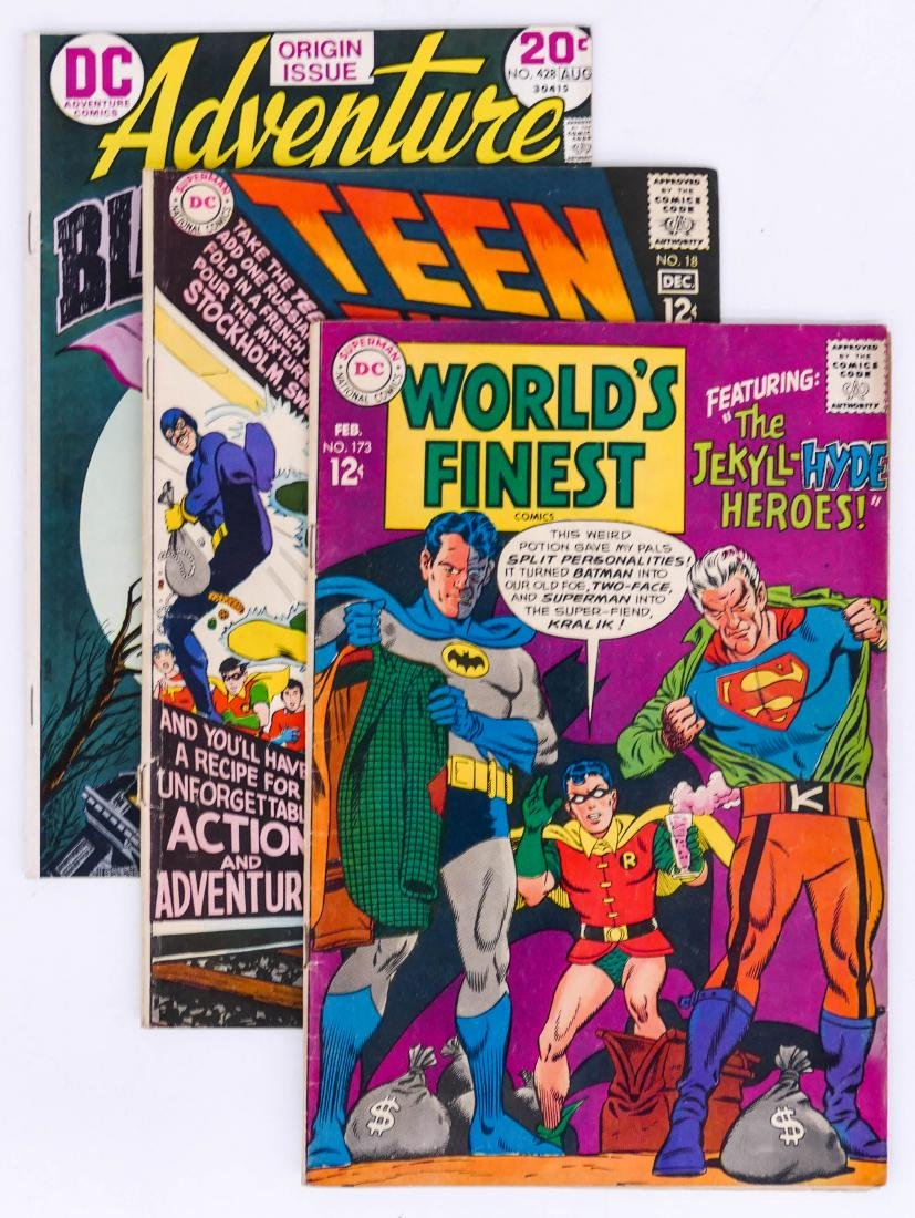 100pc World's Finest, Teen Titans, & Adventure Comic