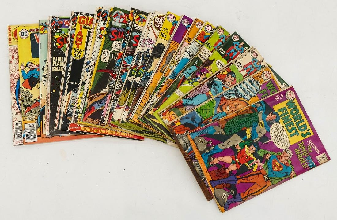 100pc World's Finest, Teen Titans, & Adventure Comic - 2