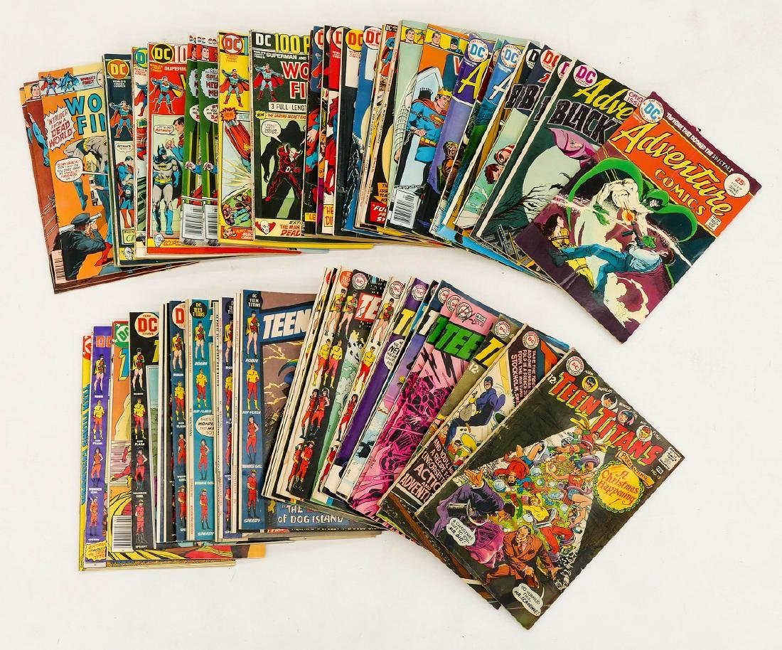 100pc World's Finest, Teen Titans, & Adventure Comic - 3