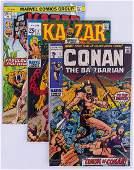 79pc Conan, Kull, and Kazar Silver & Bronze Age Comic