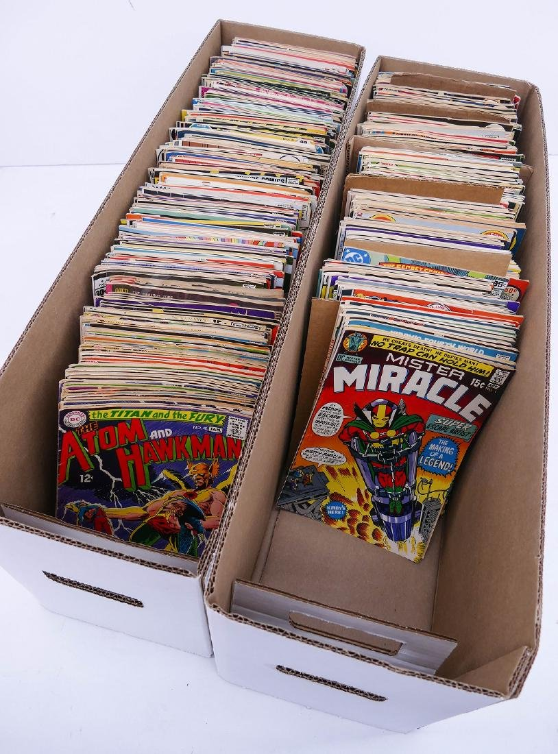 580pc Marvel and DC Silver & Bronze Age Comic Book - 2