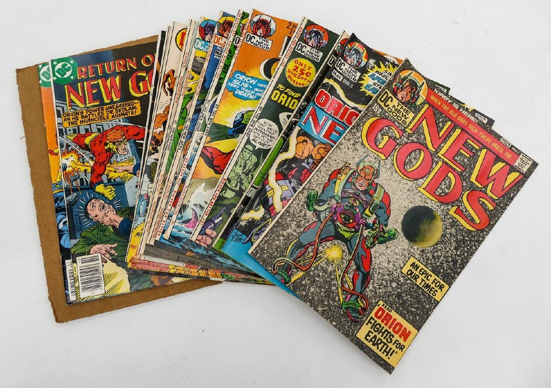 580pc Marvel and DC Silver & Bronze Age Comic Book - 8