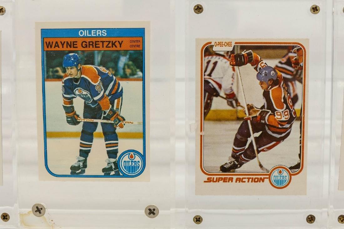 7pc Early Wayne Gretzky Hockey Trading Cards. A fresh - 2