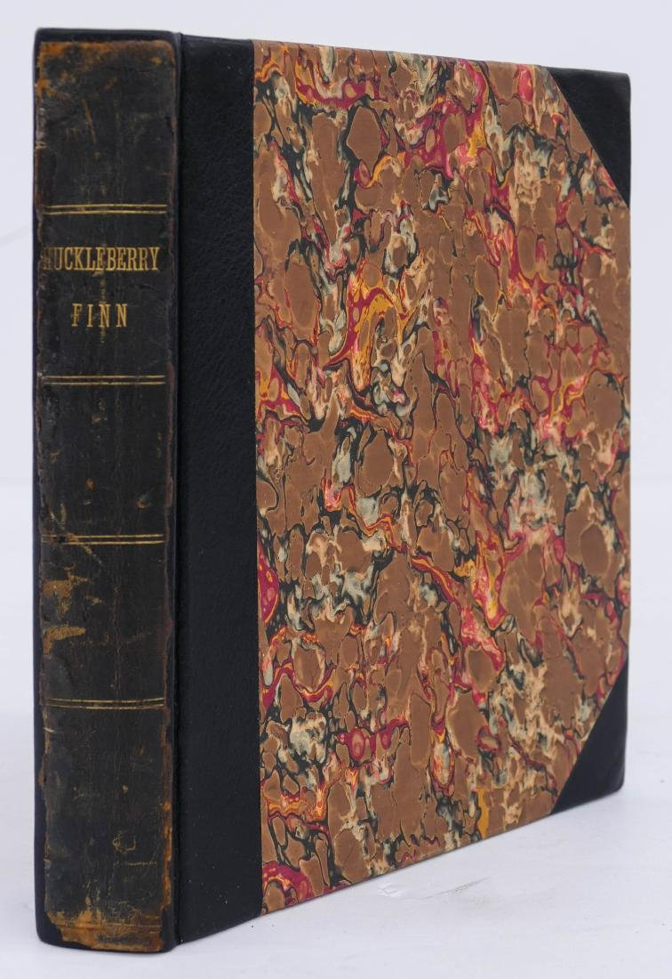 Mark Twain 1885 ''Adventures of Huckleberry Finn Book