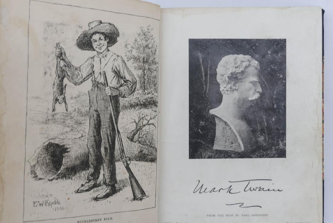 Mark Twain 1885 ''Adventures of Huckleberry Finn Book - 3