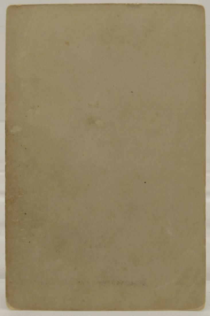 Antique Buffalo Bill Cody on Horseback Cabinet Card - 2