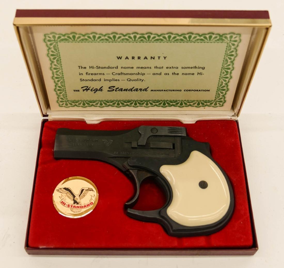 Hi-Standard Model DM-101 Derringer .22 Magnum Pistol in