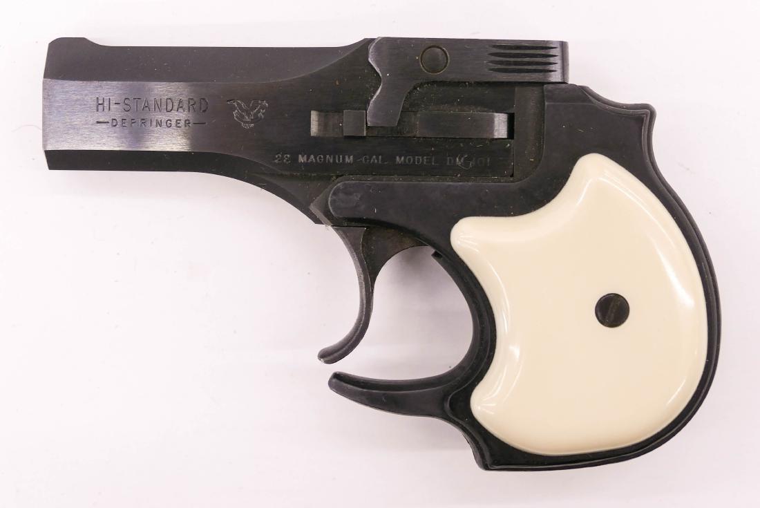 Hi-Standard Model DM-101 Derringer .22 Magnum Pistol in - 2