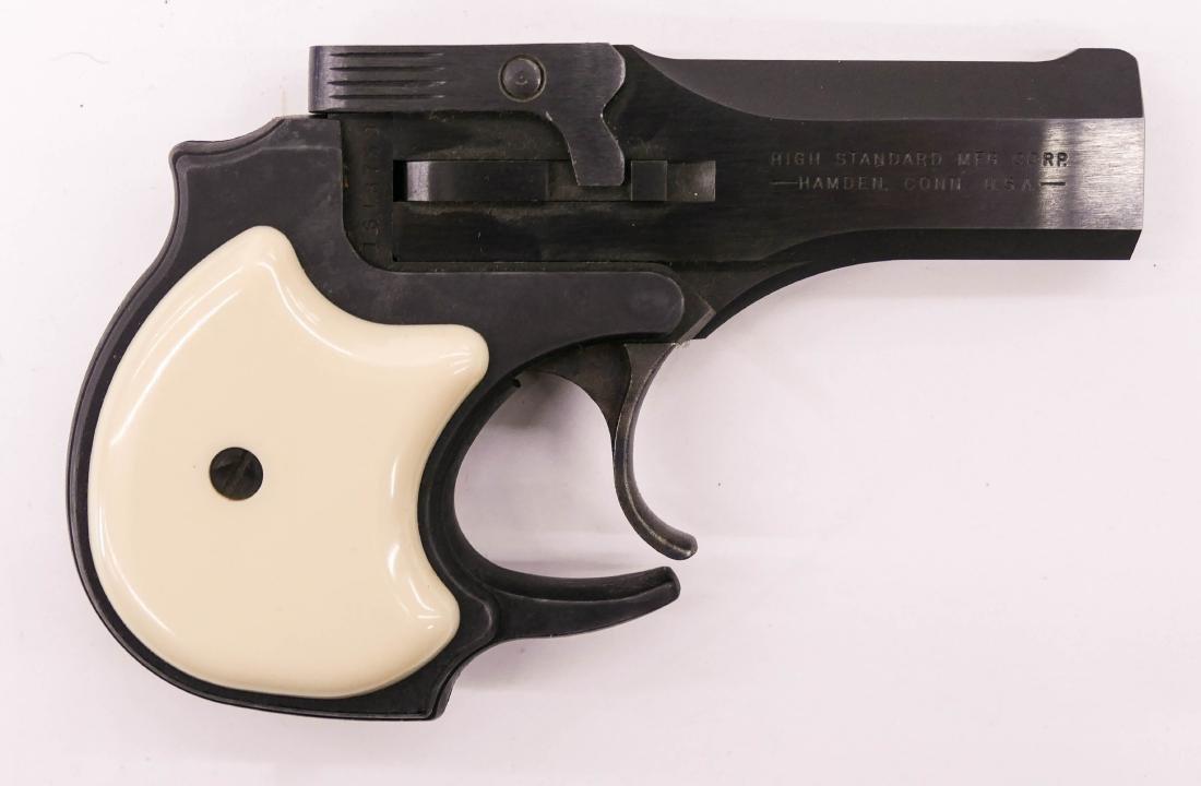 Hi-Standard Model DM-101 Derringer .22 Magnum Pistol in - 3
