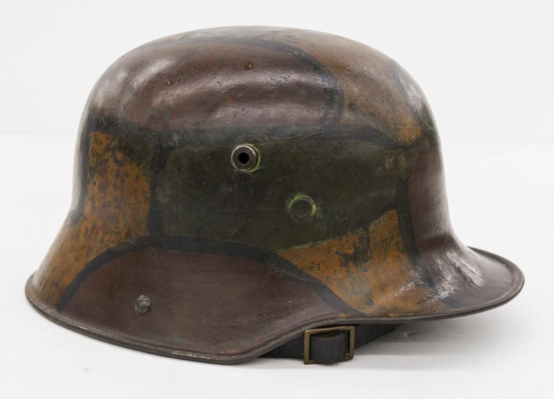WWI German M1916 Camouflage Helmet 6.5''x12''. A