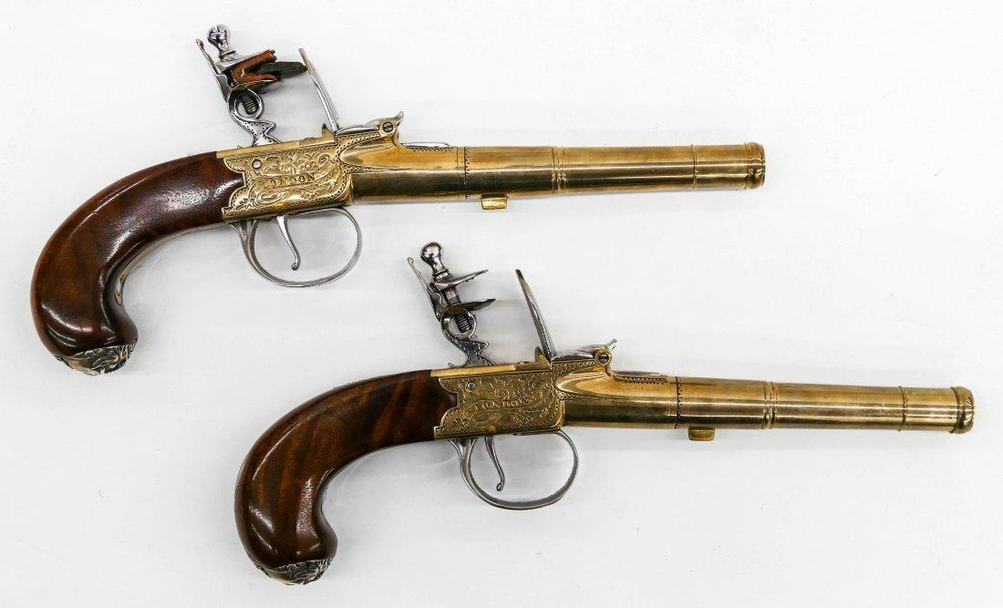 Thomas Jefferson Dueling Pistols Commemorative Set in P