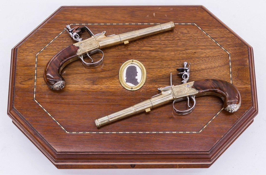 Thomas Jefferson Dueling Pistols Commemorative Set in P - 4