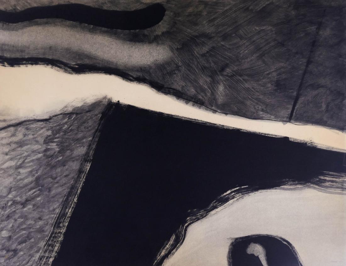 Frank Okada (1931-2000 Washington) Untitled 1969