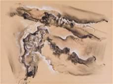 Neil Meitzler (1930-2009 Washington) Untitled Landscape
